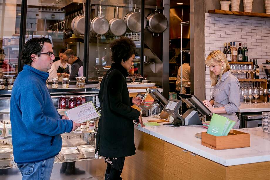 At Little Gem in S.F., people order lunch at the counter. Photo: John Storey John Storey