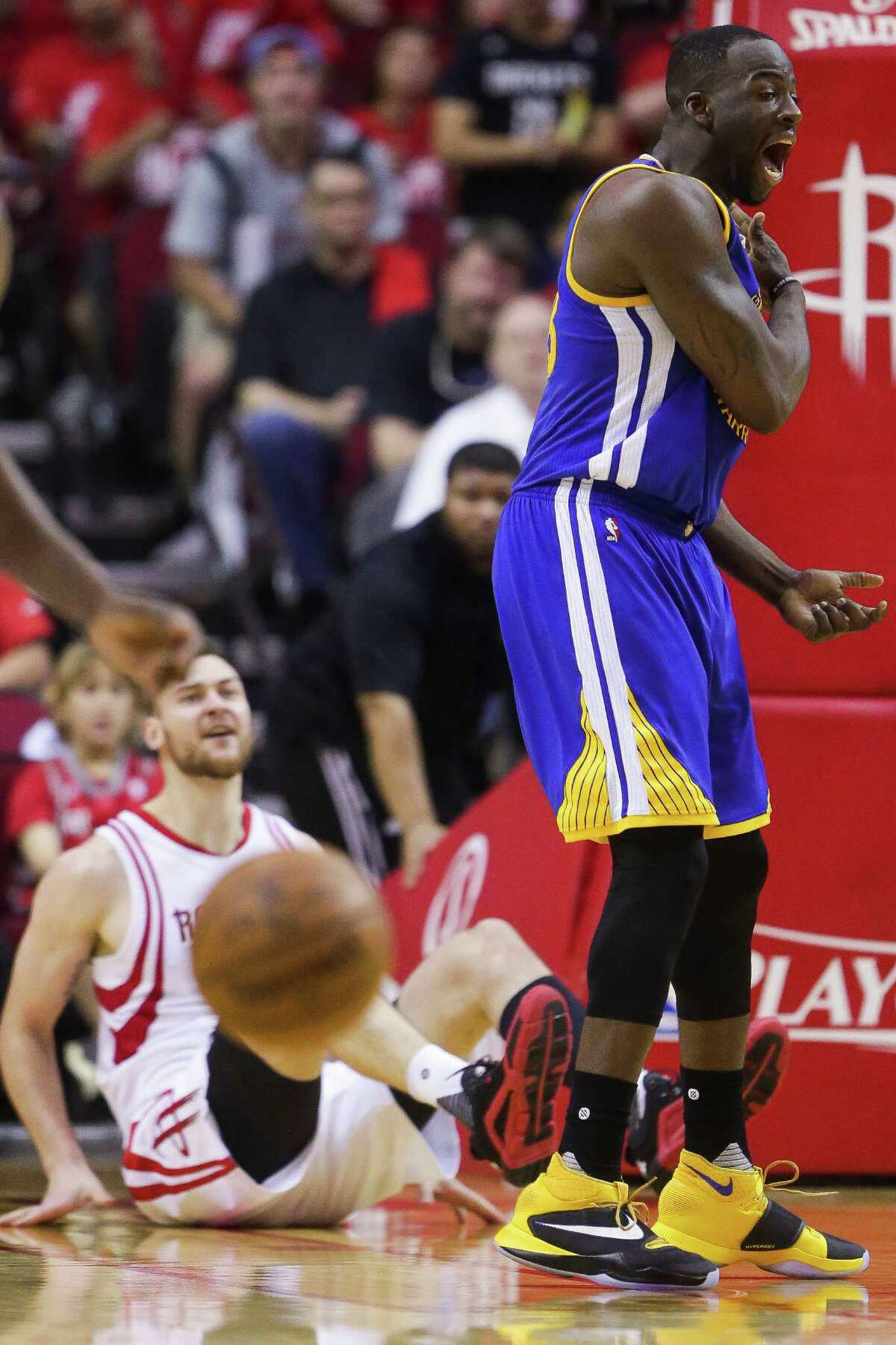 Matching the intensity of Warriors players like Draymond Green has been an issue for the Rockets, especially when playing in Oakland's Oracle Arena.