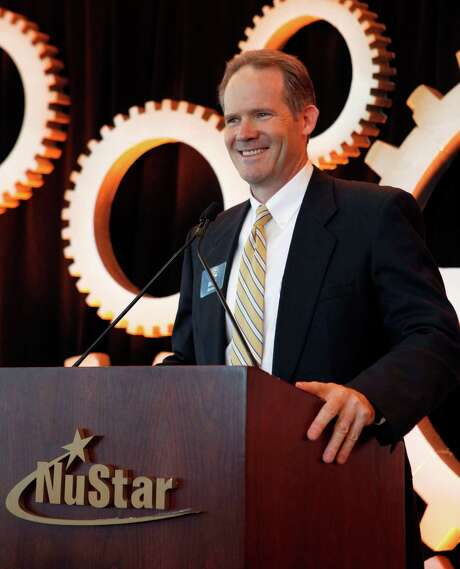 Brad Barron, CEO of NuStar Energy. A record amount of crude oil from the Eagle Ford Shale in South Texas moved through NuStar's system last year, helping boost the company's performance. This year, falling crude oil prices have meant NuStar is moving less Eagle Ford crude. Photo: Cynthia Esparza /For The San Antonio Express-News / For the San Antonio Express-News