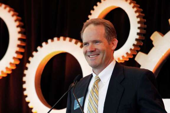 Brad Barron, CEO of NuStar Energy. A record amount of crude oil from the Eagle Ford Shale in South Texas moved through NuStar's system last year, helping boost the company's performance. This year, falling crude oil prices have meant NuStar is moving less Eagle Ford crude.