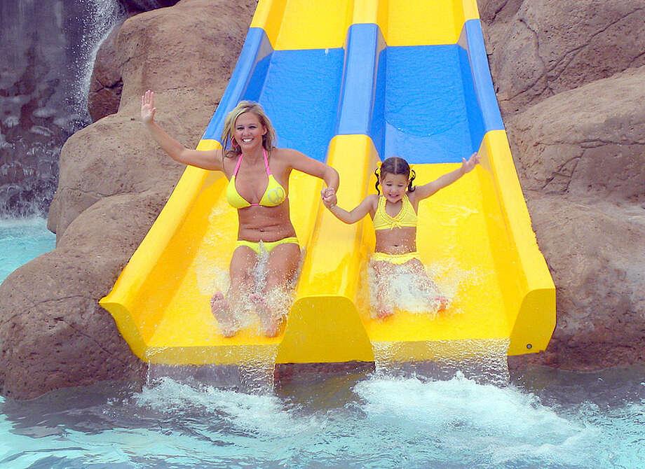 Splashtown Waterpark San Antonio will reopen on June 13, according to a Facebook post on Wednesday. Photo: Photo Provided By Splashtown Water Park