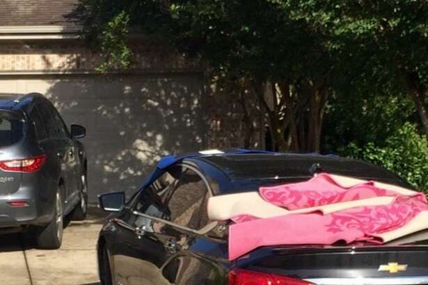 People in San Antonio, other Texas cities show off their creative hail protection on social media.