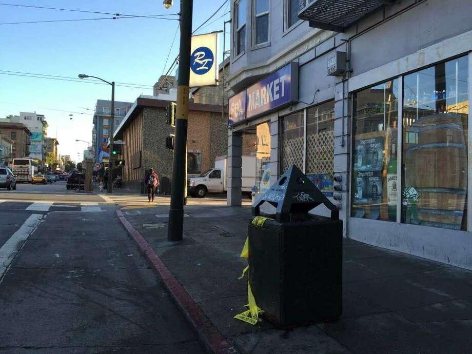 Officials identified a man found slain Monday in San Francisco's Tenderloin as a 53-year-old Stockton resident. Photo: Evan Sernoffsky / /