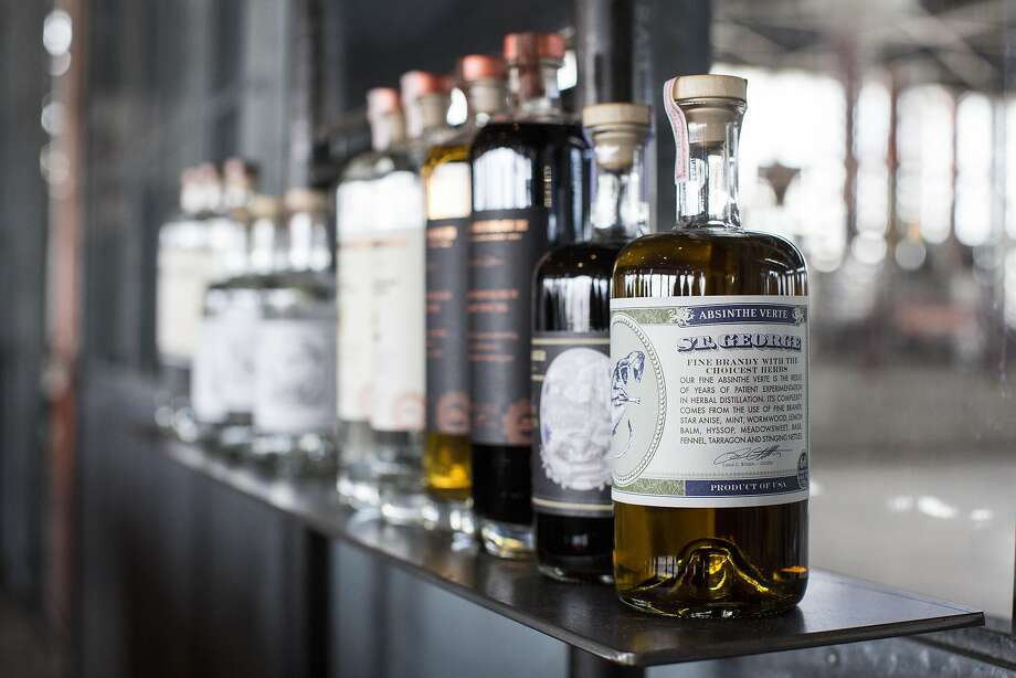 St. George Spirits in Alameda makes gins and other liqueurs. Photo: Laura Morton, Special To The Chronicle