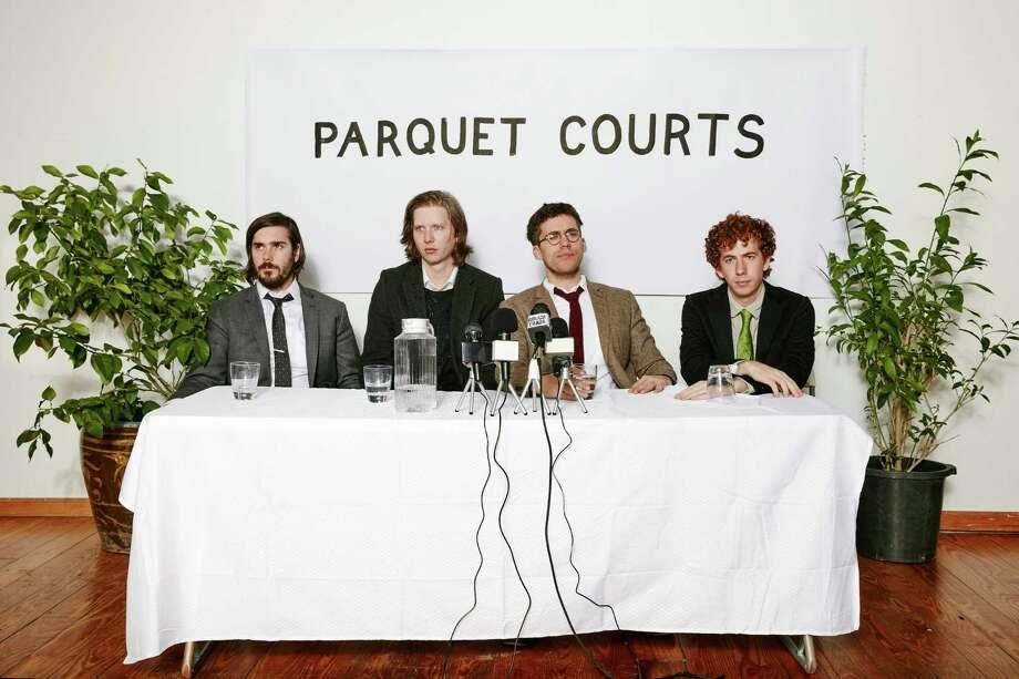 Rock band Parquet Courts Photo: Ben Rayner