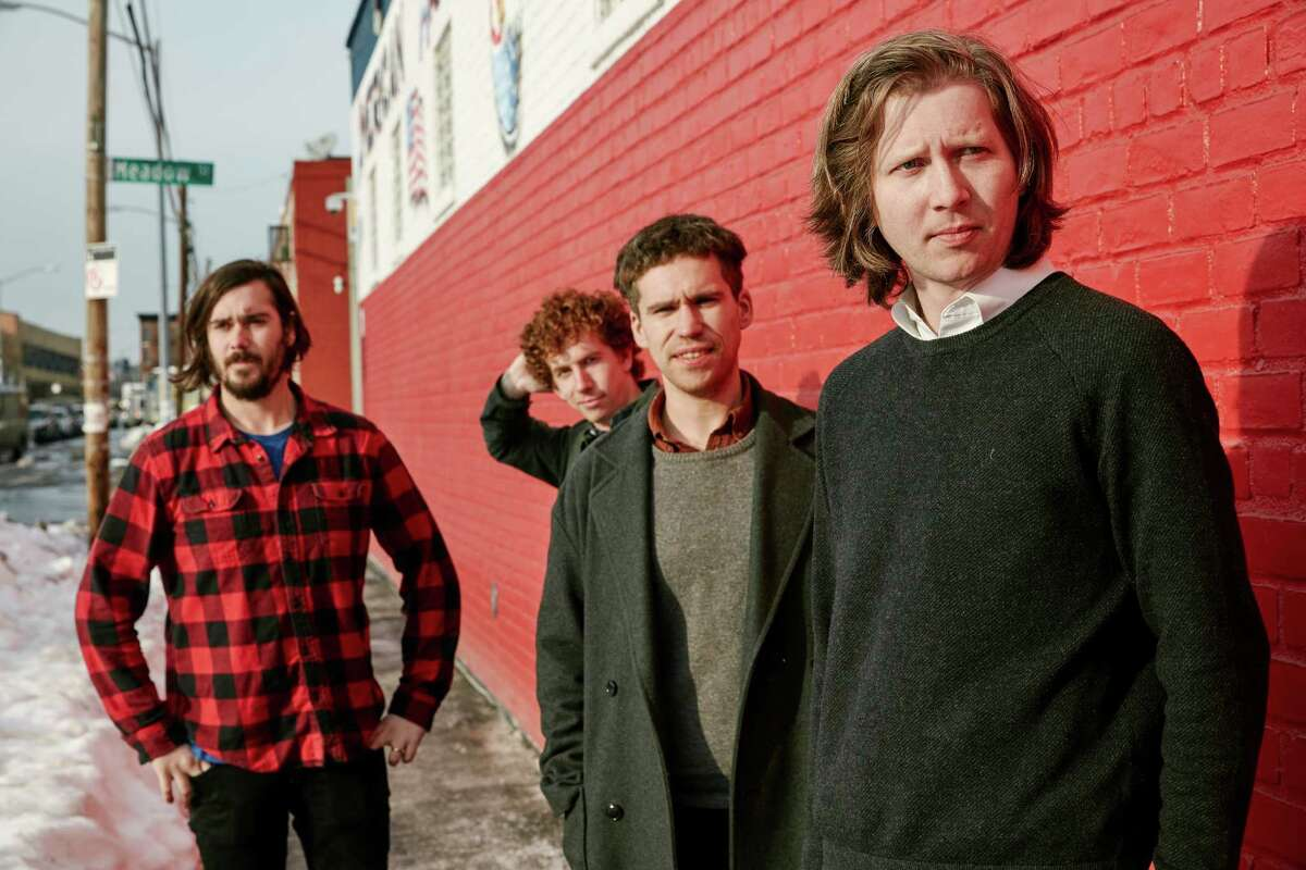 Parquet Courts includes Sean Yeaton, from left, Max Savage, Andrew Savage and Austin Brown.