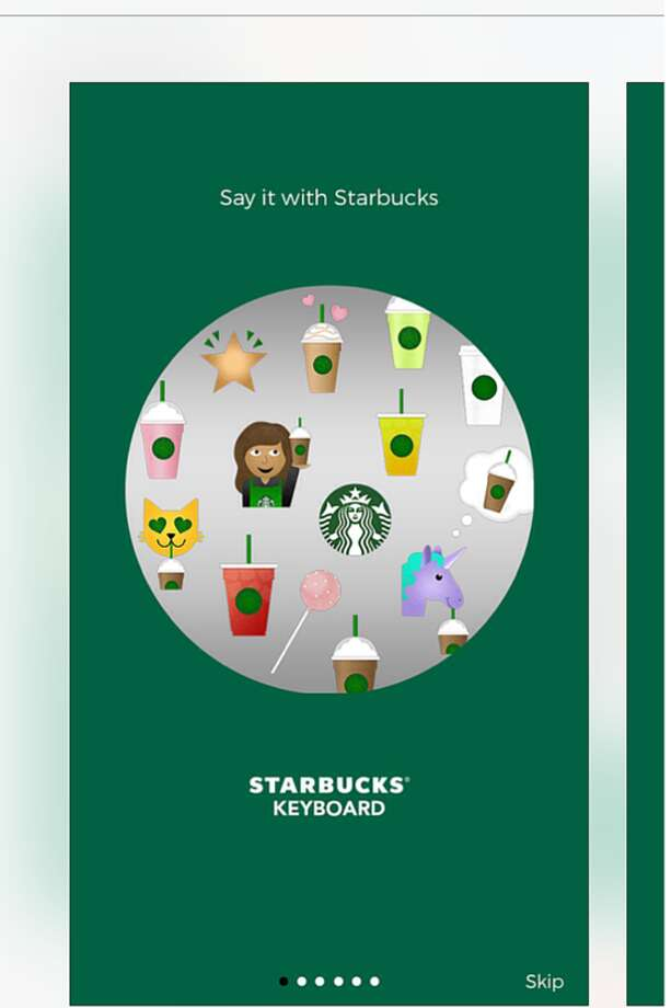 Starbucks released its own keyboard app earlier this week.