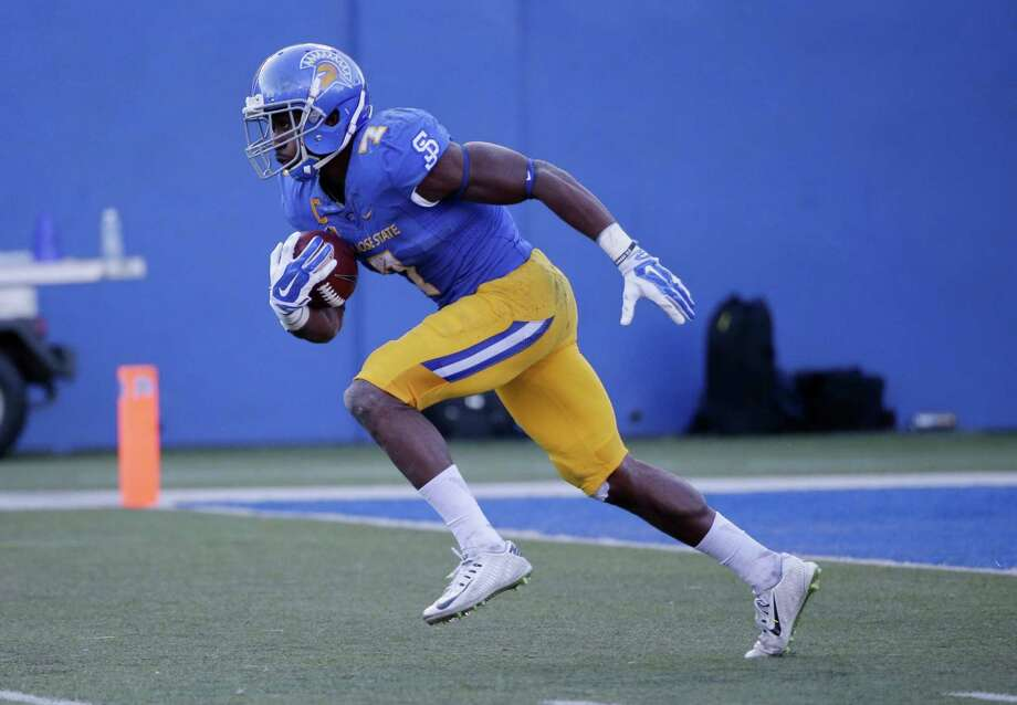 The Texans reached a deal with San Jose State running back Tyler Ervin on Thursday. Photo: Marcio Jose Sanchez, Associated Press / AP