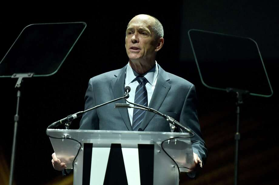 Chief Executive Officer and Director of DreamWorks Animation SKG Jeffrey Katzenberg speaks onstage during CinemaCon 2016 in Las Vegas, Nevada. For Katzenberg, who has tried to sell DreamWorks Animation before, Comcast offers protection from the ups and downs of a small studio with a stock price dependent on box-office hits. Photo: Alberto E. Rodriguez /Getty Images For CinemaCon / 2016 Getty Images