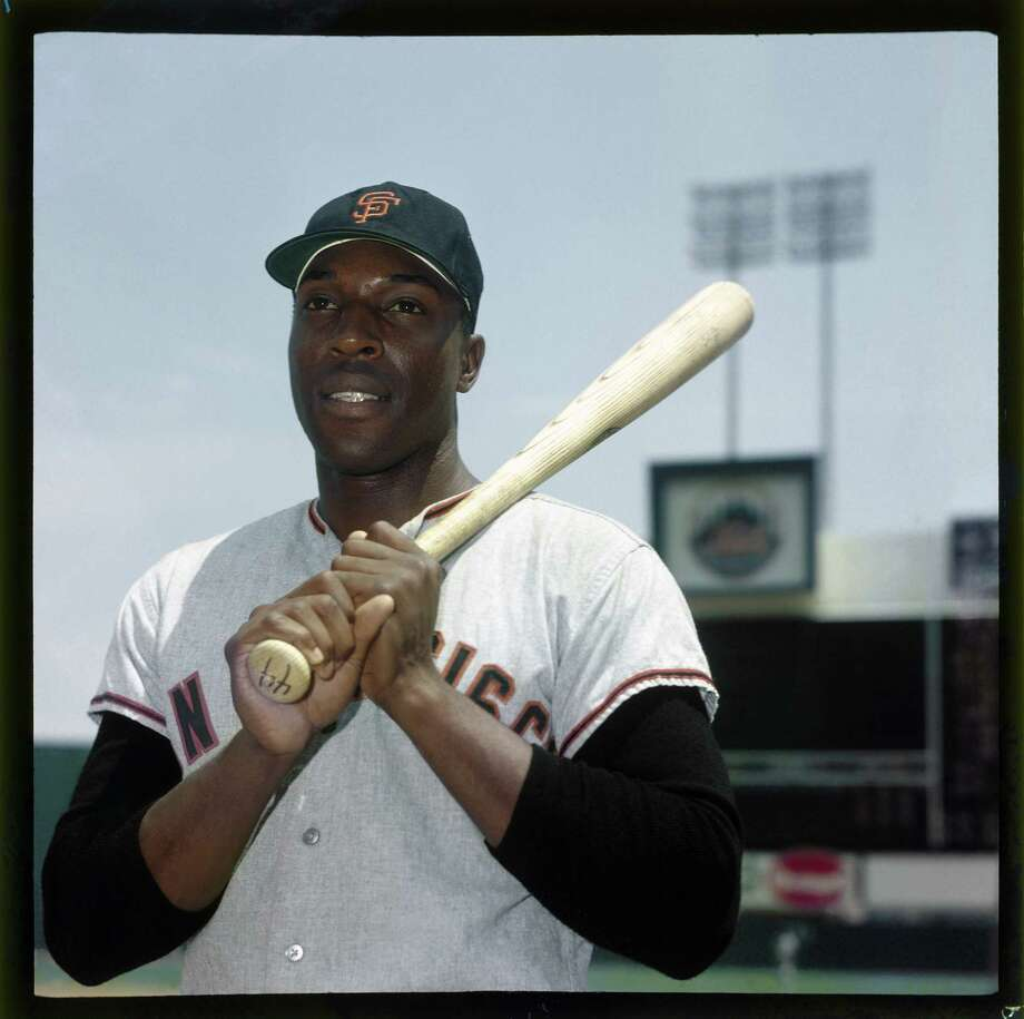 Willie McCovey of the San Francisco Giants poses for a portrait before the game against the New York Mets at Shea Stadium in Queens, New York circa 1964. Photo: Louis Requena, Getty Images / 1964 MLB Photos