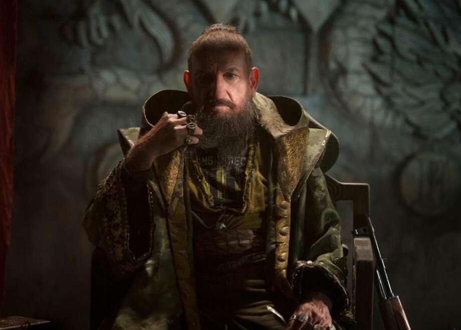 "Ben Kingsley as the Mandarin, no longer an Asian, in ""Iron Man 3."" Photo: Marvel Studios"
