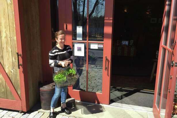 Heather Holmes, owner of The Smithy in New Preston, is introducing The Smithy CSA.