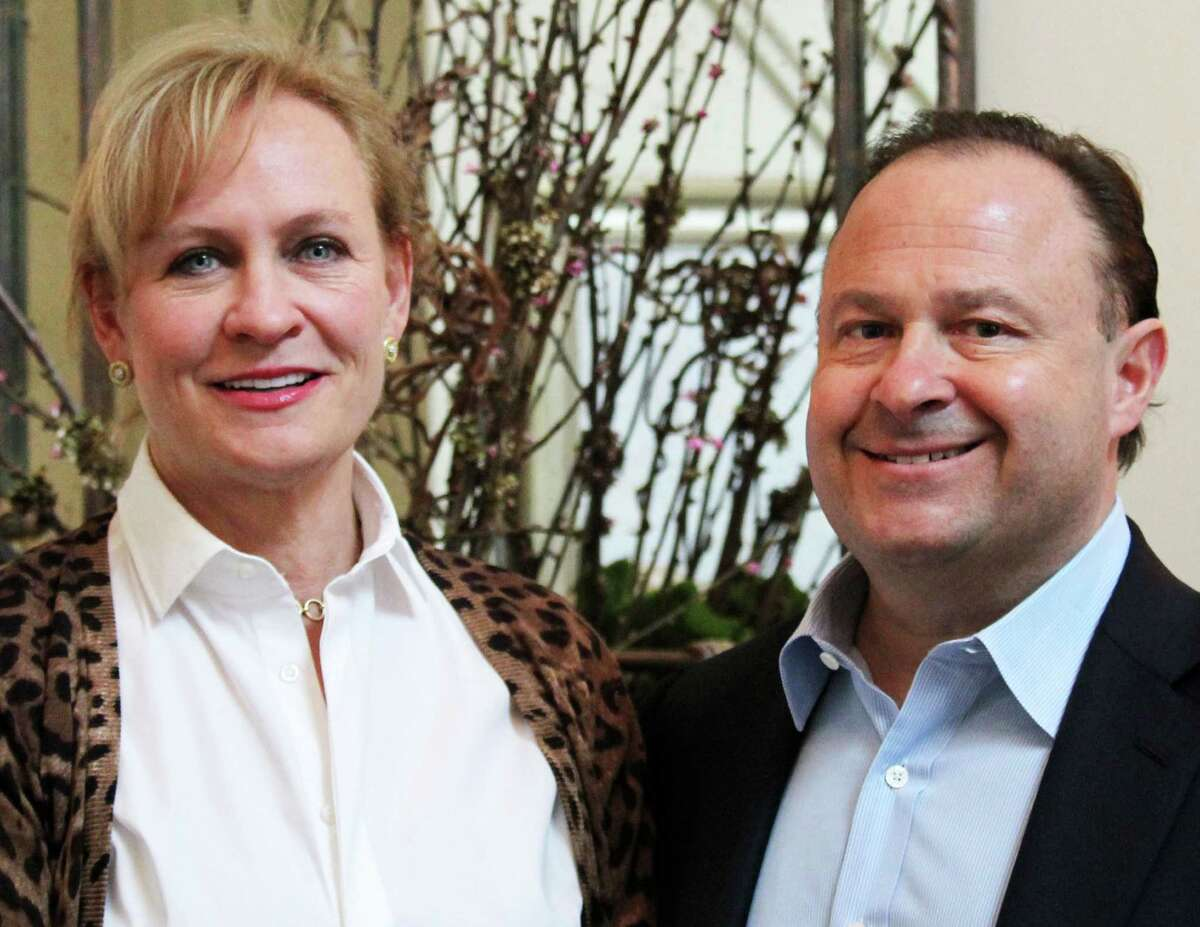 MaryGrace and Mark Gudis of Westport, who donated 100 automated external defibrillators to area communities, will be honored with the Spirit of the Red Cross Hero Award from the state chapter of the American Red Cross.