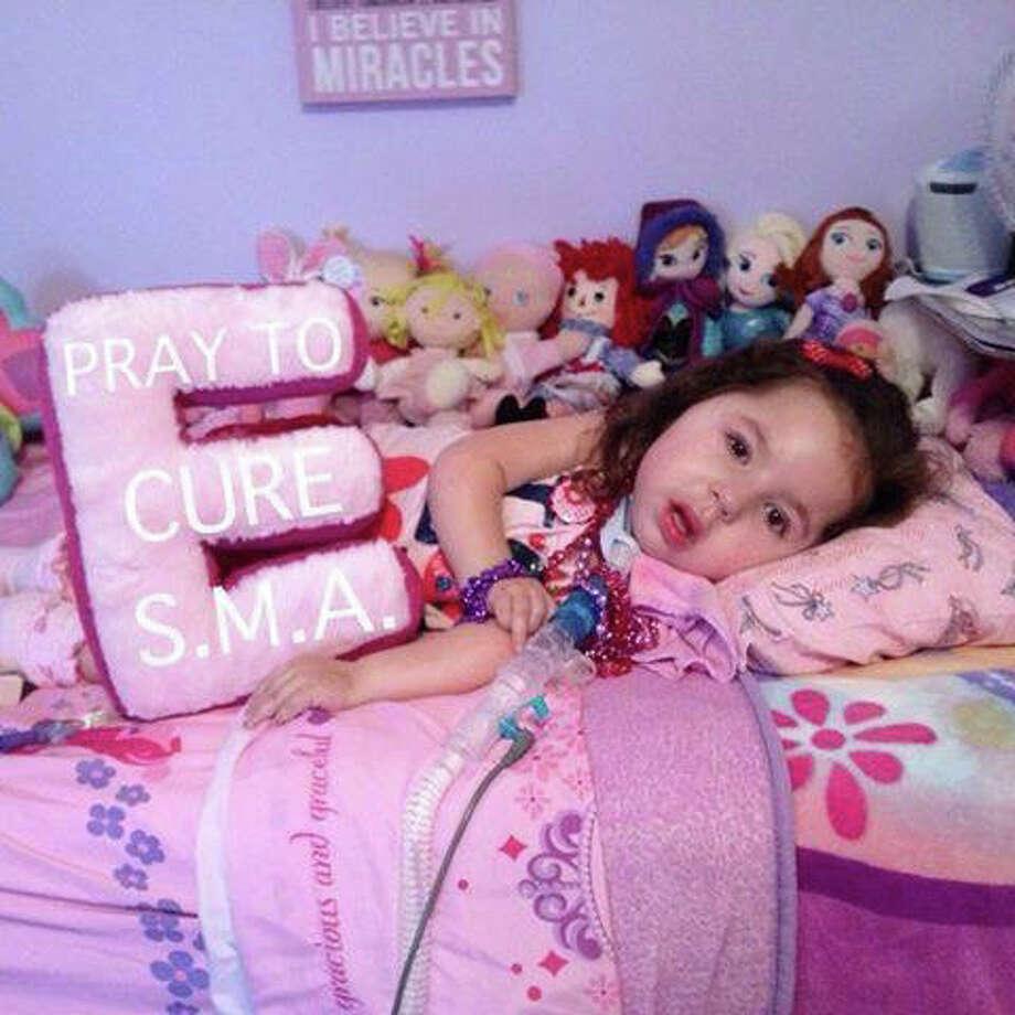 Eva Grace Kelly, 5, will go to Disney courtesy of Joe Kaliko's Needs Clearing House. Photo: Contributed / Contributed Photo / Greenwich Time Contributed