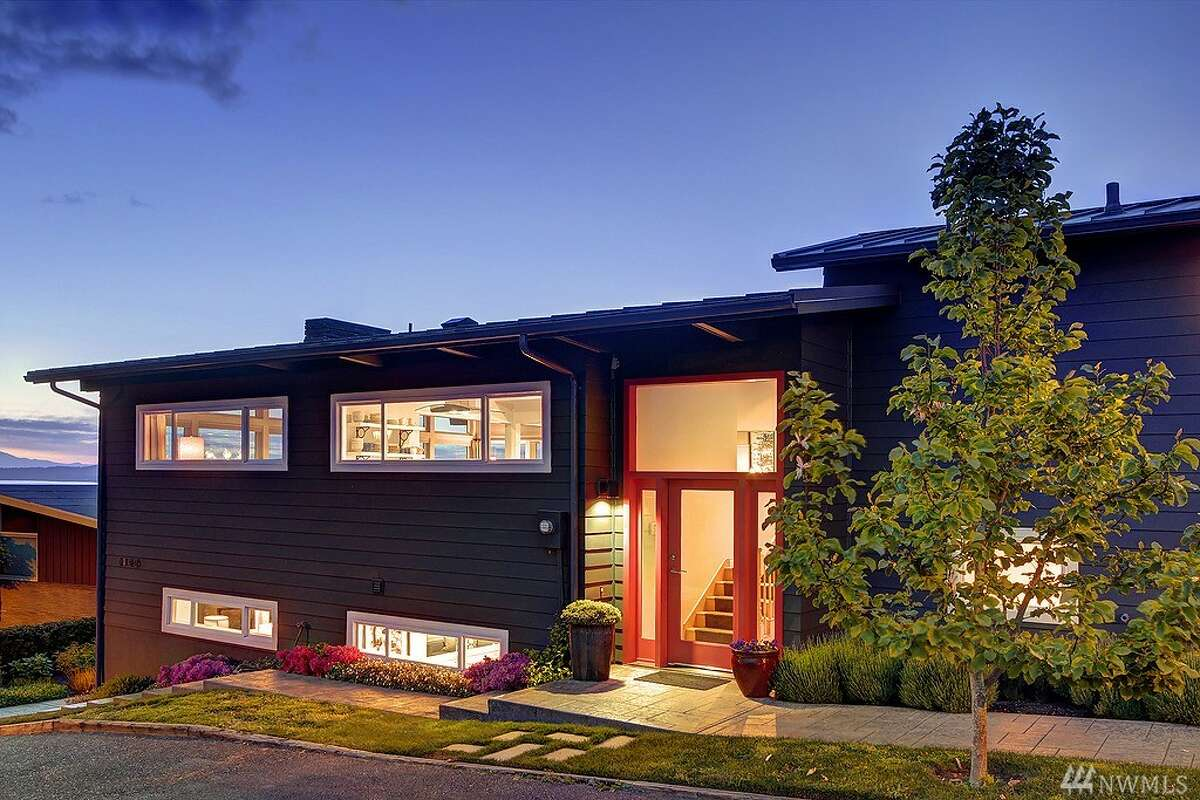 This home at2146 N.W. 100th St. is listed for $1.675 million. The five bedroom, 2.5 bathroom home was built in 1953 and has been meticulous maintained. It features soaring ceilings, mountain and Puget Sound views and a large rooftop deck. You can see the full listing here.