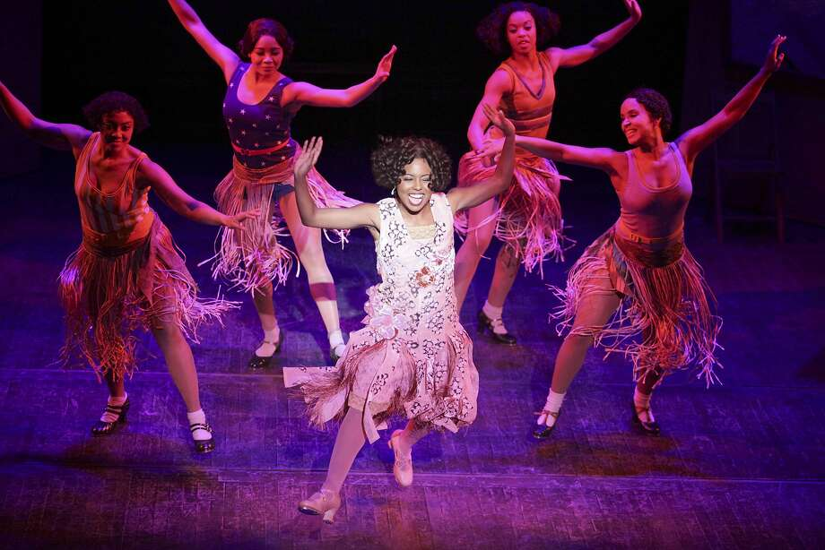 """Shuffle Along,"" revived in 2016 with Adrienne Warren (center), broke racial barriers. Photo: Julieta Cervantes"