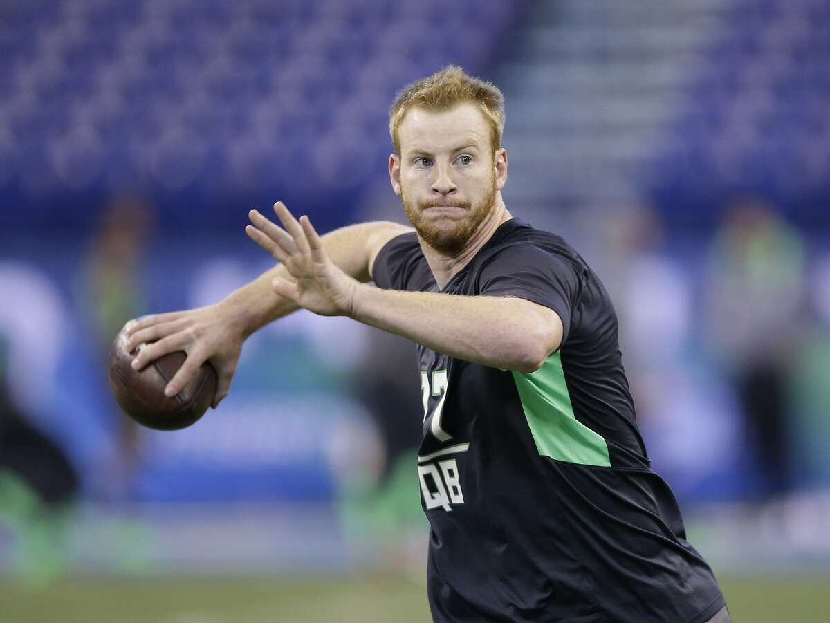 2. Philadelphia Eagles*: QB Carson Wentz, North Dakota State *From Cleveland