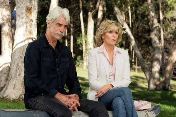 Grace (Jane Fonda) finds romance with S.A. native Phil (Sam Elliott) on season two of  'Grace and Frankie' on Netflix.