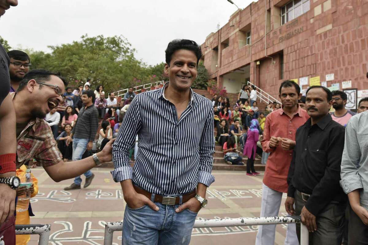 """Bollywood actor and """"Aligarh"""" star Manoj Bajpayee plays the role of Professor Shrinivas Ramchandra Siras, who was suspended from Aligarh Muslim University in India because of his sexual orientation. After successfully appealing his suspension, he died under suspicious circumstances."""