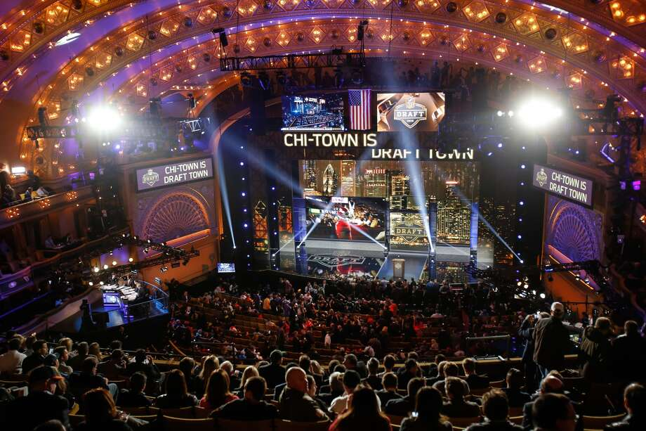 The 2016 NFL draft kicks off Thursday at 5 p.m. Pacific from Chicago's Auditorium Theatre. Photo: Kena Krutsinger, Getty Images