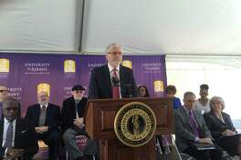 Lawrence Schell launched the UAlbany Center for the Elimination of Minority Health Disparities. (Claire Hughes/Times Union)