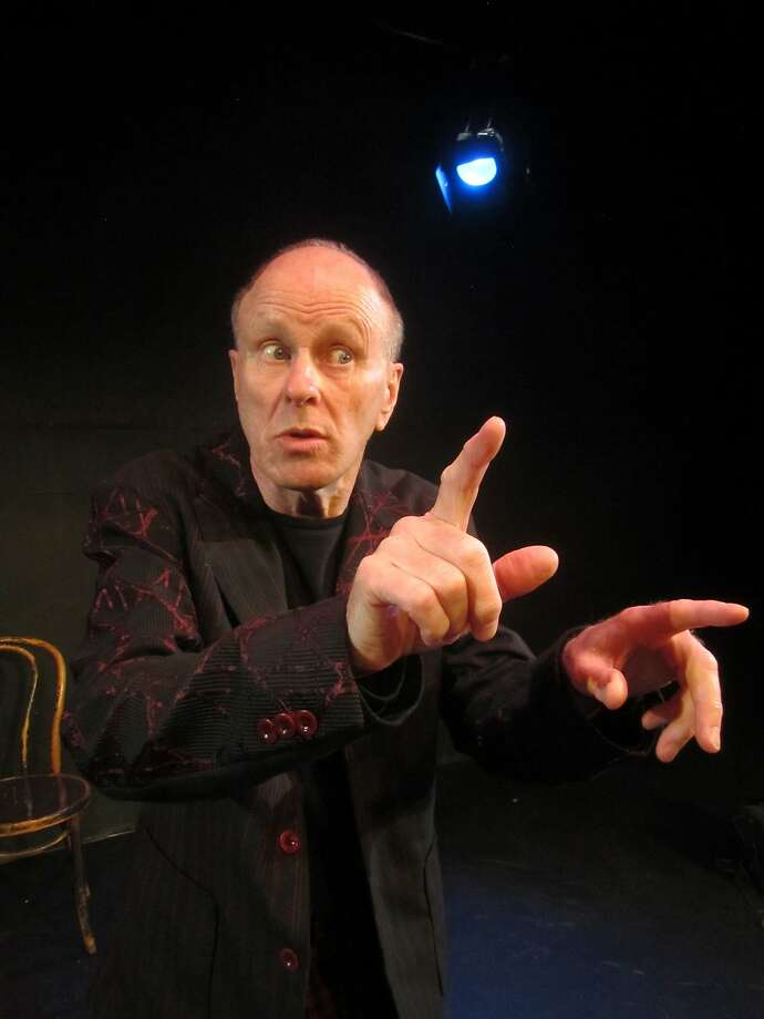 Geoff Hoyle tells the story of King Lear from the Fool's point of view. Photo: Patti Meyer, Courtesy The Marsh