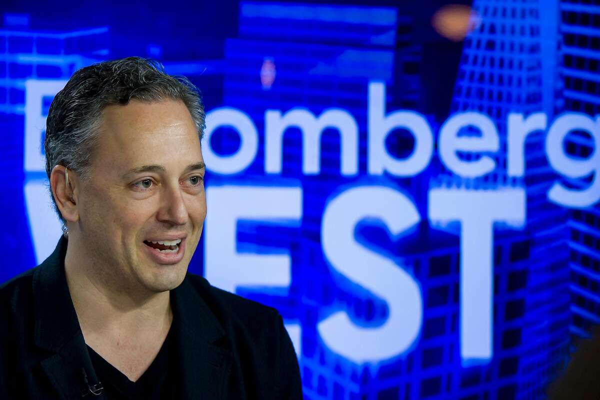 David Sacks, co-founder of PayPal and chief operating officer of Zenefits, speaks during a Bloomberg West television interview in San Francisco, California, U.S., on Wednesday, Dec. 10, 2014.