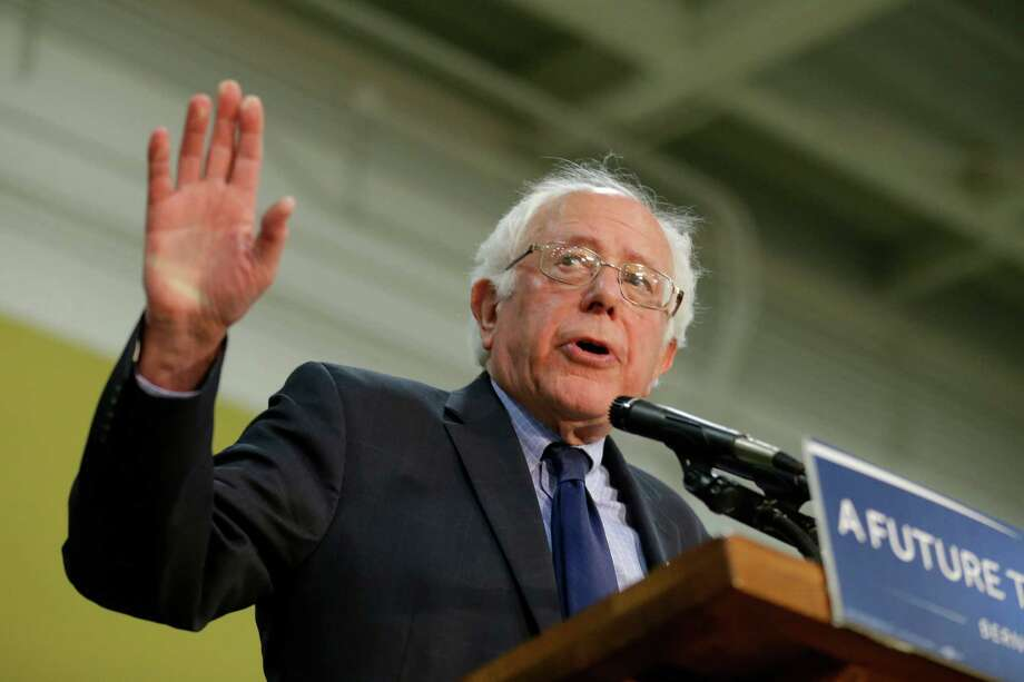 "Sen. Bernie Sanders told attendees of a rally at Purdue University in Indiana on Wednesday that he remains ""in this campaign to win"" the Democratic nomination, despite Tuesday's primary losses to Hillary Clinton. Photo: Michael Conroy, STF / Copyright 2016 The Associated Press. All rights reserved. This material may not be published, broadcast, rewritten or redistribu"