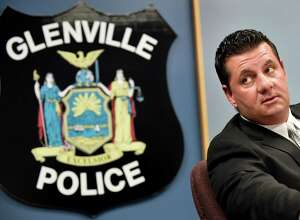 Lt. Stephen Janik, who will soon be formally named the new police chief, on Wednesday, April 20, 2016, at Glenville Town Hall in Glenville, N.Y. (Cindy Schultz / Times Union)