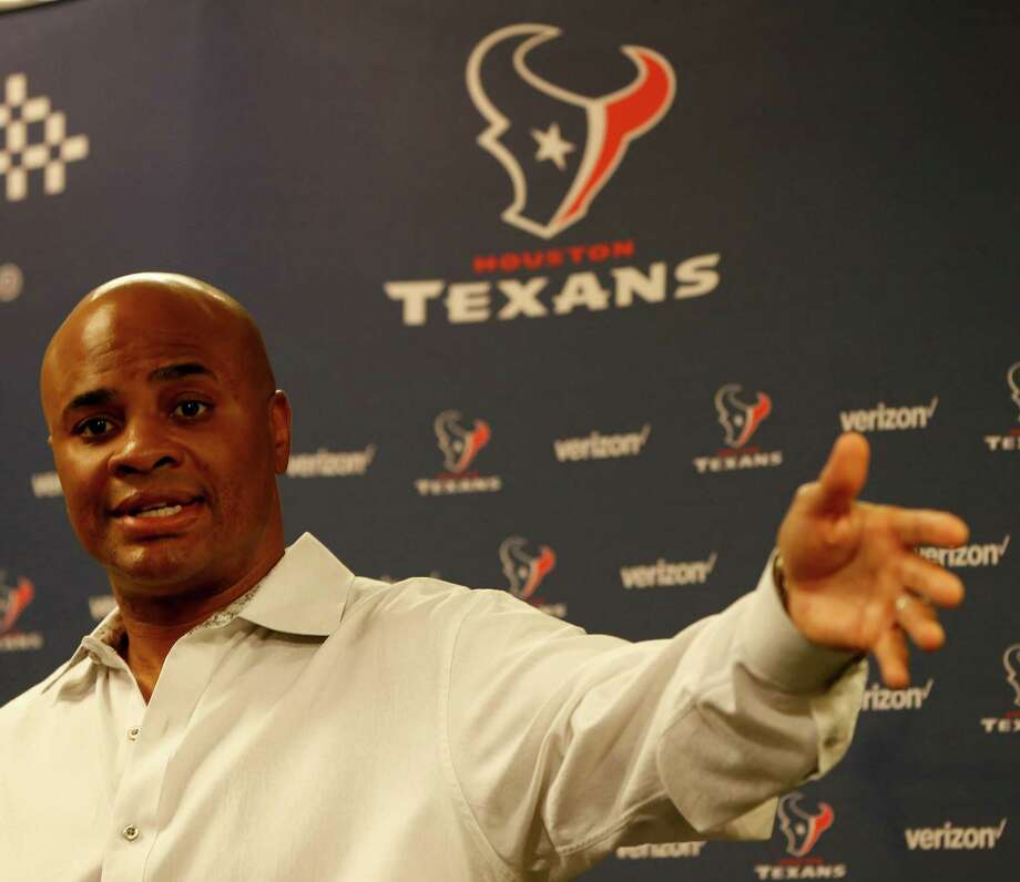 Texans GM Rick Smith has a track record of using his top pick on a defensive player, but that could change. Photo: Karen Warren, Staff / © 2016 Houston Chronicle