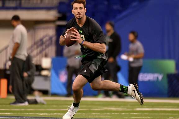 Quarterback Paxton Lynch put Memphis football on the map, but one NFL analyst said Lynch is a year away from starting in the league.