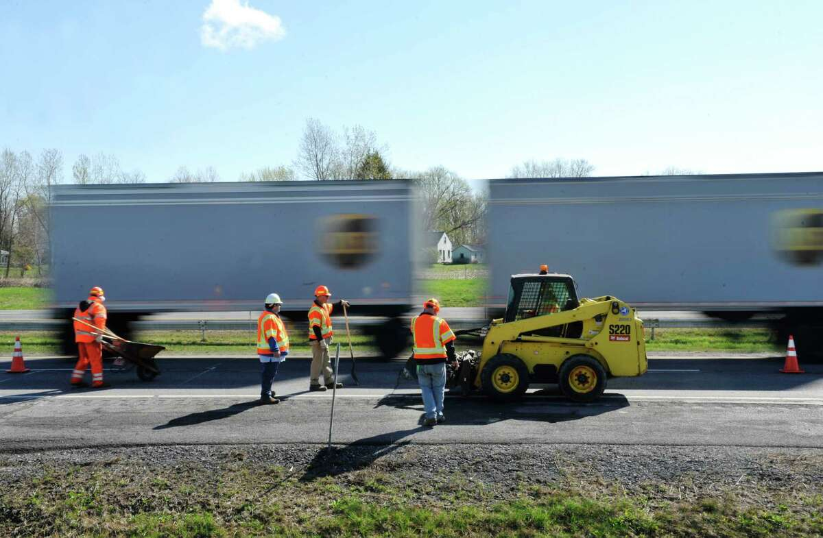 FILE. Letter writer says, 'There's legislation pending in Albany that would go a long way toward better protecting highway workers by implementing a pilot program for automated speed cameras in highway work zones.' (Paul Buckowski / Times Union)