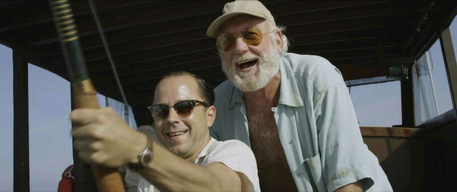 "Giovanni Ribisi and Adrian Sparks in ""Papa Hemingway in Cuba."" (Photo courtesy Havana Film Festival New York/TNS) Photo: Handout, HO / TNS / Havana Film Festival New York"