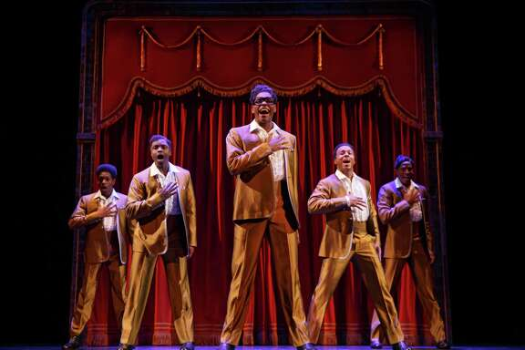 """The Temptations are among the music legends portrayed in """"Motown the Musical,"""" which is coming to the Majestic Theatre."""