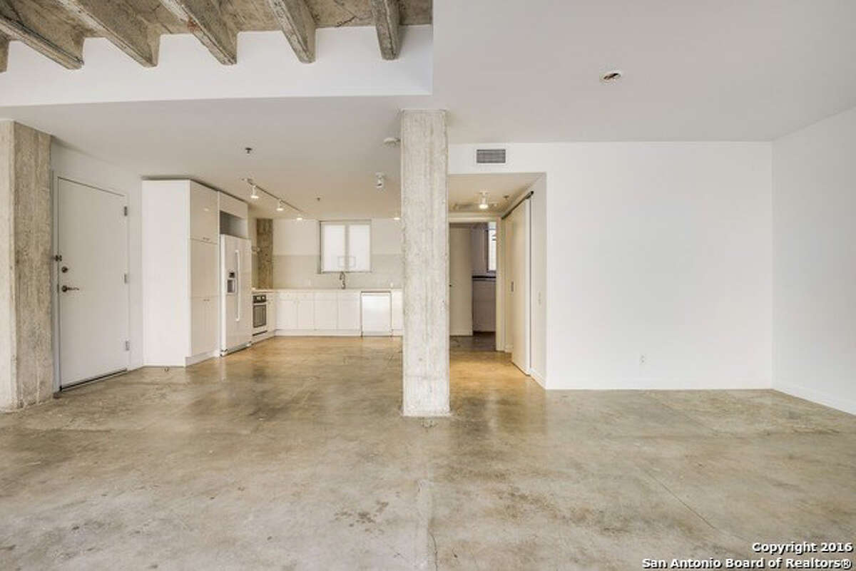 Address: 1115 S. Alamo St., Unit 2209 Area: King William Next Open House: 4/30 from 1-4pm Several unique floor plans available at St. Benedict's Lofts in historic King William. Each loft features an open plan w/ high ceilings, large windows, & concrete flooring throughout. Sleek kitchens w/ Bosch appliances & solid countertops. High-end plumbing fixtures & slate tile in baths. Amenities include pristine pool & on-site fitness center. Prime Southtown location, just steps from S.A.'s hottest eateries, entertainment & River Walk. Starting at $225,900. www.stblofts.com | 210.212.6900