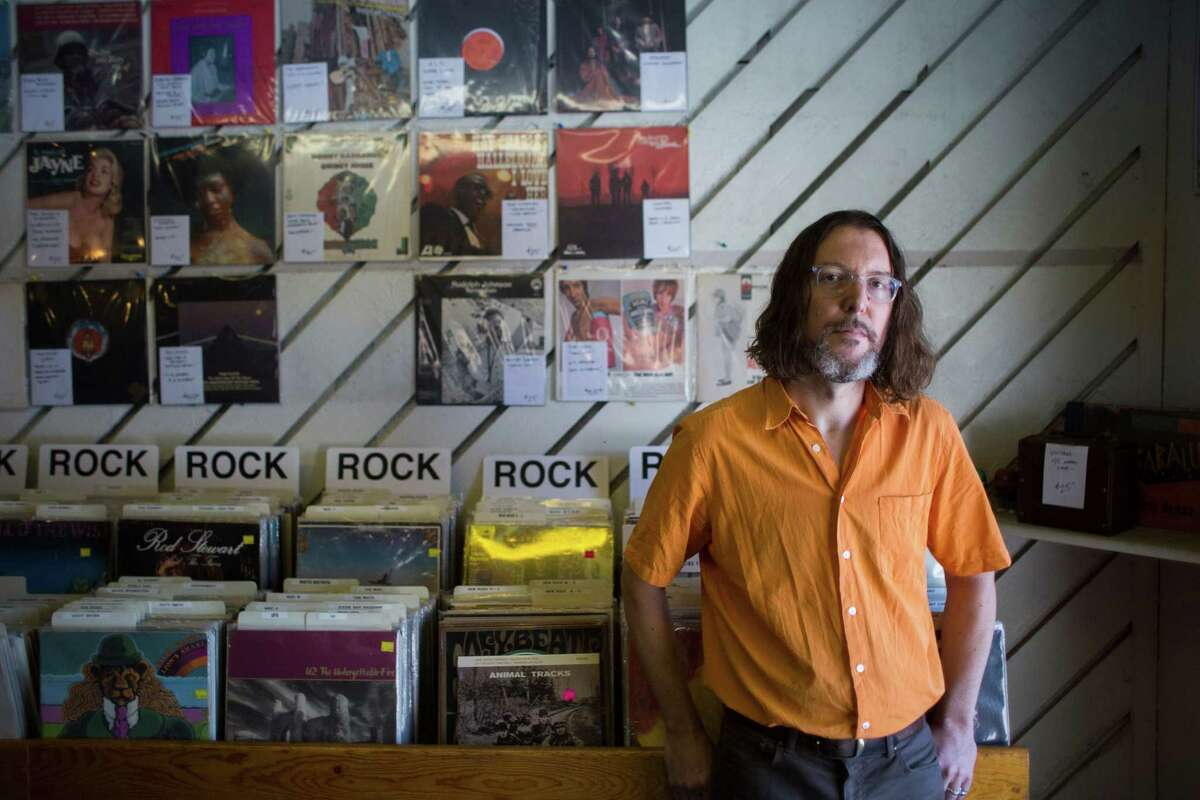 Tom Carter is half of Charlambides, an avant garde psych band that formed in Houston 25 years ago.