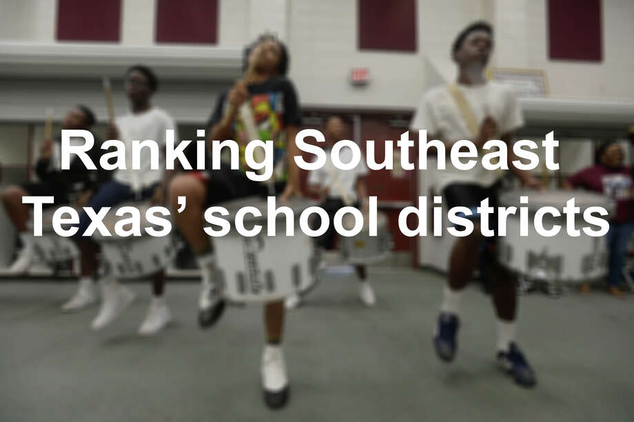 Two Southeast Texas school districts scored in the top 25 percent of Texas schools in an online survey that graded them in such areas as academics, sports and fitness, extracurricular activities, health and safety and average spending per student. See where other schools in the area landed in the following slides.