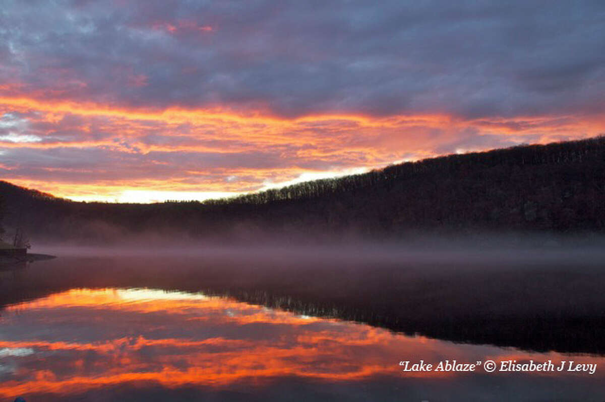 This photograph by Elisabeth J. Levy is part of a new exhibit of pictures celebrating Candlewood Lake.