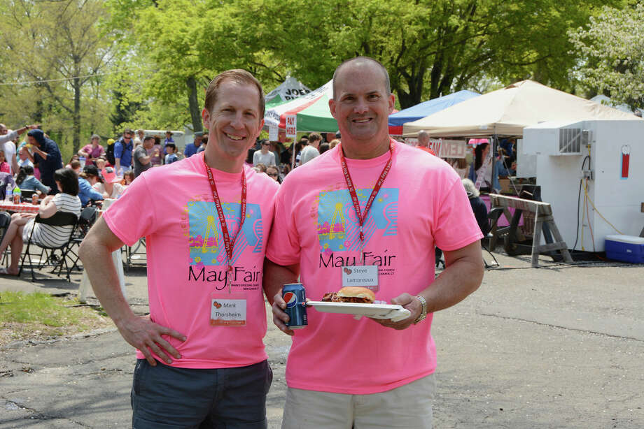 May Fair Co-chairs and New Canaan residents, Mark Thorsheim and Steve Lamoreaux.