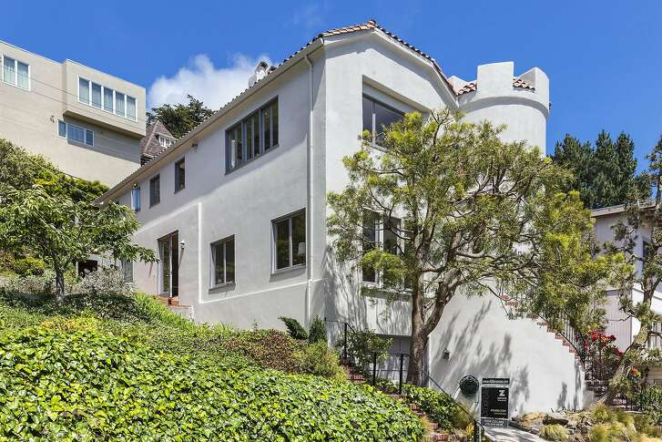 40 Dorantes Ave. is a fortress-like storybook in Forest Hill.�