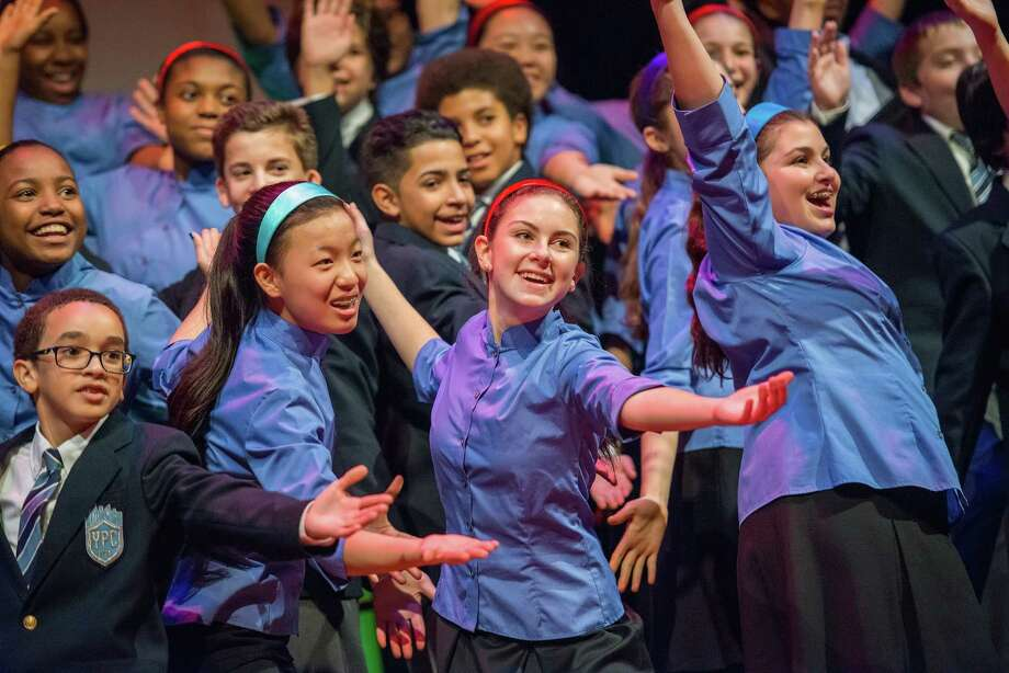 The Young People's Chorus of New York City will perform Sunday at First United Methodist Church in Schenectady. (First United Methodist Church)