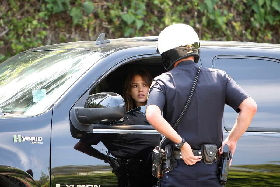 """""""No officer, I don't know why you pulled me over""""What you really mean: I'm not going to give you any fodder here. Photo: BuzzFoto/FilmMagic, Getty Images"""