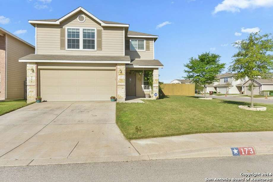 Address: 173 Palma NoceArea: Far West SideOPEN HOUSE SUNDAY MAY 1  2PM-5PM upgrades including additional 1st floor bedroom, Corian kitchen countertops, deep-well sink with detachable sprayer, custom-built linen closet with hamper in master, pop-up ceiling in master, and custom-built storage area under the stairs. Home has ceiling fans throughout, and finished garageChristopher Atencio   Century 21 Scott Myers   chris.atencio@century21.com   210-479-1222 Photo: Photo Provided By San Antonio Board Of Realtors