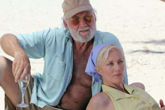 "Adrian Sparks and Joely Richardson in ""Papa Hemingway in Cuba."" (Photo courtesy Havana Film Festival New York/TNS)"