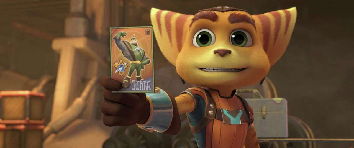"""Ratchet is on a mission to become a Galactic Ranger in """"Ratchet & Clank."""""""
