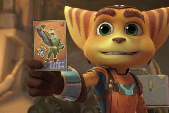 "Ratchet is on a mission to become a Galactic Ranger in ""Ratchet & Clank."""