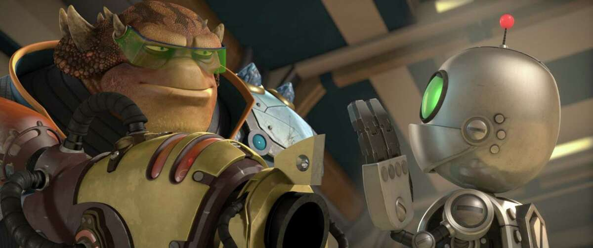 """A still from """"Ratchet and Clank."""" (Aperture Media Partners)"""