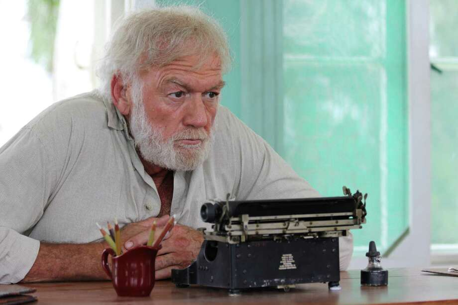 "This image released by Yari Film group shows Adrian Sparks as Ernest Hemingway in a scene from the film, ""Papa: Hemingway in Cuba."" The film is the first full-length Hollywood feature filmed on the island since the 1959 Cuban Revolution. (Yari Film Group via AP)  ORG XMIT: NYET401 / Yari Film Group"