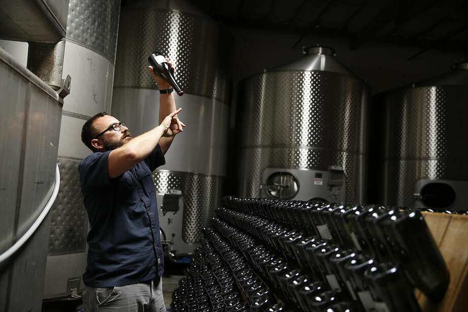 Michael Cruse at Cruse Wine. Photo: Liz Hafalia, The Chronicle