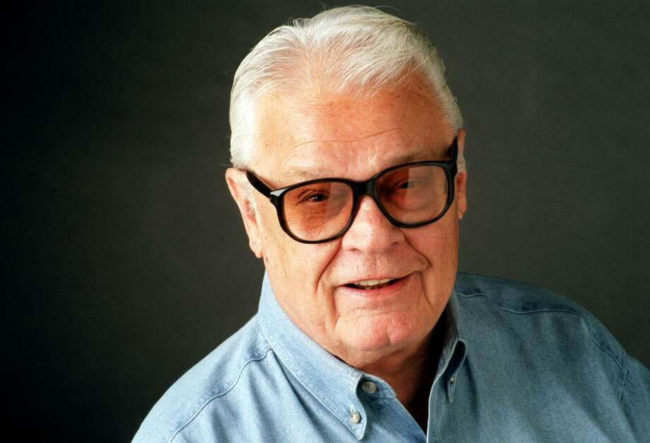 ** FILE **Blackie Sherrod, shown in this July 1999 file photo in Dallas, is retiring from The Dallas Morning News after nearly 60 years in journalism. Sherrod, 83, a longtime sportswriter and columnist disclosed his plans in his final column Thursday, Jan. 2, 2003. Photo: AP / THE DALLAS MORNING NEWS